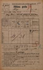 Popis prebivalstva 20. 12. 1921<br />Ljubljana<br />Breg 18<br />Population census 20 December 1921