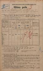Popis prebivalstva 20. 12. 1921<br />Ljubljana<br />Cankarjevo nabrežje 7<br />Population census 20 December 1921