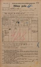 Popis prebivalstva 20. 12. 1921<br />Ljubljana<br />Celovška cesta 12<br />Population census 20 December 1921