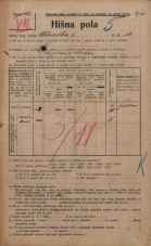 Popis prebivalstva 20. 12. 1921<br />Ljubljana<br />Celovška cesta 13<br />Population census 20 December 1921