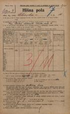 Popis prebivalstva 20. 12. 1921<br />Ljubljana<br />Celovška cesta 16<br />Population census 20 December 1921