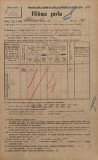 Popis prebivalstva 20. 12. 1921<br />Ljubljana<br />Celovška cesta 19<br />Population census 20 December 1921