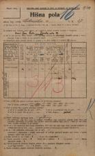 Popis prebivalstva 20. 12. 1921<br />Ljubljana<br />Celovška cesta 27<br />Population census 20 December 1921