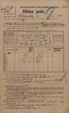 Popis prebivalstva 20. 12. 1921<br />Ljubljana<br />Celovška cesta 28<br />Population census 20 December 1921