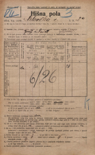 Popis prebivalstva 20. 12. 1921<br />Ljubljana<br />Celovška cesta 2a<br />Population census 20 December 1921