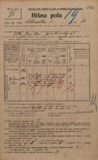 Popis prebivalstva 20. 12. 1921<br />Ljubljana<br />Celovška cesta 30<br />Population census 20 December 1921
