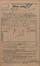 Popis prebivalstva 20. 12. 1921<br />Ljubljana<br />Celovška cesta 32<br />Population census 20 December 1921