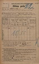 Popis prebivalstva 20. 12. 1921<br />Ljubljana<br />Celovška cesta 33<br />Population census 20 December 1921
