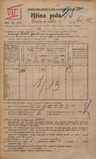 Popis prebivalstva 20. 12. 1921<br />Ljubljana<br />Celovška cesta 61a<br />Population census 20 December 1921
