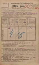 Popis prebivalstva 20. 12. 1921<br />Ljubljana<br />Celovška cesta 67a<br />Population census 20 December 1921