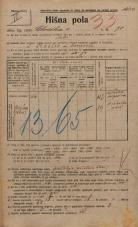 Popis prebivalstva 20. 12. 1921<br />Ljubljana<br />Celovška cesta 70<br />Population census 20 December 1921