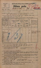 Popis prebivalstva 20. 12. 1921<br />Ljubljana<br />Celovška cesta 71<br />Population census 20 December 1921