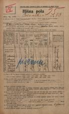 Popis prebivalstva 20. 12. 1921<br />Ljubljana<br />Celovška cesta 73<br />Population census 20 December 1921