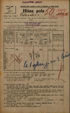 Popis prebivalstva 20. 12. 1921<br />Ljubljana<br />Celovška cesta 104a<br />Population census 20 December 1921