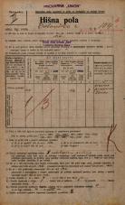Popis prebivalstva 20. 12. 1921<br />Ljubljana<br />Celovška cesta 104b<br />Population census 20 December 1921