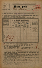 Popis prebivalstva 20. 12. 1921<br />Ljubljana<br />Celovška cesta 104c<br />Population census 20 December 1921