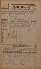 Popis prebivalstva 20. 12. 1921<br />Ljubljana<br />Celovška cesta 117<br />Population census 20 December 1921
