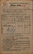 Popis prebivalstva 20. 12. 1921<br />Ljubljana<br />Celovška cesta 90<br />Population census 20 December 1921