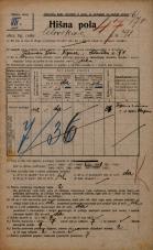 Popis prebivalstva 20. 12. 1921<br />Ljubljana<br />Celovška cesta 91<br />Population census 20 December 1921