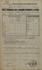 Popis prebivalstva 20. 12. 1921<br />Ljubljana<br />Celovška cesta - Tržna ulica 81a<br />Population census 20 December 1921