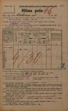 Popis prebivalstva 20. 12. 1921<br />Ljubljana<br />Cerkvena ulica 11<br />Population census 20 December 1921