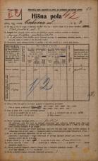 Popis prebivalstva 20. 12. 1921<br />Ljubljana<br />Cerkvena ulica 3<br />Population census 20 December 1921