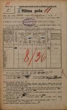 Popis prebivalstva 20. 12. 1921<br />Ljubljana<br />Cesta na Kodeljevo 3<br />Population census 20 December 1921