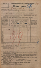 Popis prebivalstva 20. 12. 1921<br />Ljubljana<br />Dolenjska cesta 11<br />Population census 20 December 1921