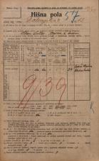 Popis prebivalstva 20. 12. 1921<br />Ljubljana<br />Dolenjska cesta 12<br />Population census 20 December 1921