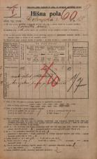 Popis prebivalstva 20. 12. 1921<br />Ljubljana<br />Dolenjska cesta 15<br />Population census 20 December 1921