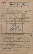 Popis prebivalstva 20. 12. 1921<br />Ljubljana<br />Dolenjska cesta 31<br />Population census 20 December 1921