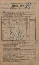 Popis prebivalstva 20. 12. 1921<br />Ljubljana<br />Dolenjska cesta 35<br />Population census 20 December 1921