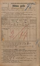 Popis prebivalstva 20. 12. 1921<br />Ljubljana<br />Dolenjska cesta 52<br />Population census 20 December 1921