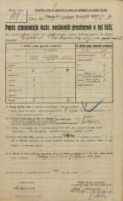 Popis prebivalstva 20. 12. 1921<br />Ljubljana<br />Dolenjska cesta - Postaja Ljubljana dolenjski kolodvor 30<br />Population census 20 December 1921