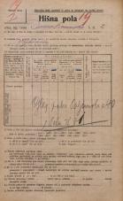 Popis prebivalstva 20. 12. 1921<br />Ljubljana<br />Domobranska cesta 2<br />Population census 20 December 1921