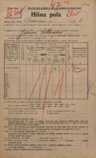 Popis prebivalstva 20. 12. 1921<br />Ljubljana<br />Dovozna cesta 4<br />Population census 20 December 1921