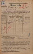 Popis prebivalstva 20. 12. 1921<br />Ljubljana<br />Drenikov vrh 80<br />Population census 20 December 1921