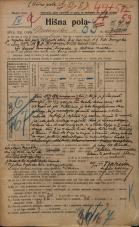 Popis prebivalstva 20. 12. 1921<br />Ljubljana<br />Dunajska cesta 53<br />Population census 20 December 1921