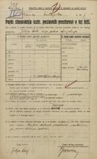 Popis prebivalstva 20. 12. 1921<br />Ljubljana<br />Dunajska cesta 9<br />Population census 20 December 1921