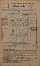 Popis prebivalstva 20. 12. 1921<br />Ljubljana<br />Dunajska cesta 10<br />Population census 20 December 1921