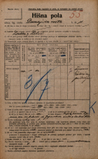 Popis prebivalstva 20. 12. 1921<br />Ljubljana<br />Dunajska cesta 11<br />Population census 20 December 1921