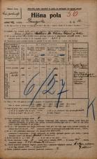 Popis prebivalstva 20. 12. 1921<br />Ljubljana<br />Dunajska cesta 12<br />Population census 20 December 1921