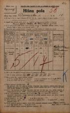 Popis prebivalstva 20. 12. 1921<br />Ljubljana<br />Dunajska cesta 14<br />Population census 20 December 1921