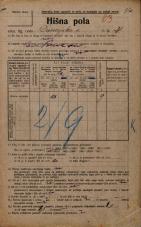 Popis prebivalstva 20. 12. 1921<br />Ljubljana<br />Dunajska cesta 21<br />Population census 20 December 1921