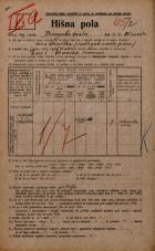 Popis prebivalstva 20. 12. 1921<br />Ljubljana<br />Dunajska cesta 25<br />Population census 20 December 1921