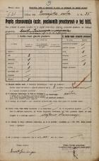 Popis prebivalstva 20. 12. 1921<br />Ljubljana<br />Dunajska cesta 35<br />Population census 20 December 1921