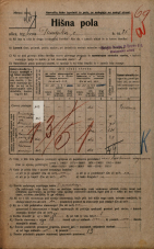 Popis prebivalstva 20. 12. 1921<br />Ljubljana<br />Dunajska cesta 35a<br />Population census 20 December 1921