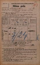 Popis prebivalstva 20. 12. 1921<br />Ljubljana<br />Dunajska cesta 41<br />Population census 20 December 1921