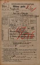 Popis prebivalstva 20. 12. 1921<br />Ljubljana<br />Dunajska cesta 64<br />Population census 20 December 1921
