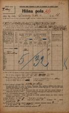 Popis prebivalstva 20. 12. 1921<br />Ljubljana<br />Dunajska cesta 66<br />Population census 20 December 1921